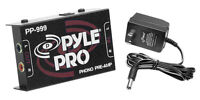 NEW Pyle PP999 Ultra-Low Noise Turntable Preamp + 12-Volt Adaptor - Preamplifier