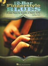 12-Bar Fingerstyle Blues Learn Piedmont Solos TAB GUITAR Music Book DOWNLOAD