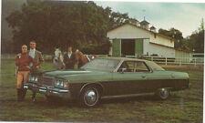 Mercury Monterey 2 Door Hardtop for 1974 original Postcard