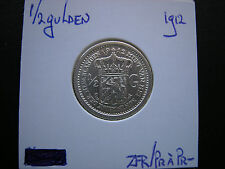 1/2 gulden 1912 zfr/pr à pr-
