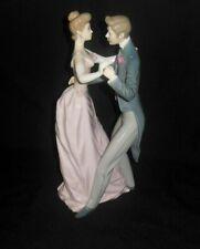 Lladro Anniversary Waltz Couple Dancing Figurine #1372 Circa 1978