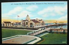 1940s Ventnor City Municipal Pier, near Atlantic City, New Jersey