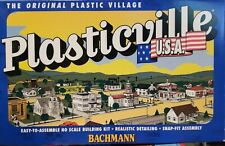 Bachmann Plasticville HO Marshal's Office and Restaurant