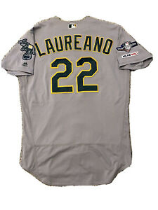 MLB Authenticated - Ramon Laureano Four Games, Four Home Runs Jersey