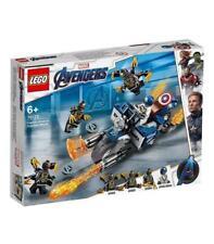 Lego Avengers Capitán América ataque Outriders