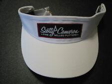 Scotty Cameron 2018 PinFlag Woven Patch WHITE Visor FMP Titleist Adjustable NIB