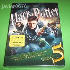 HARRY POTTER Y LA ORDEN DEL FENIX NUEVO Y PRECINTADO 2 DISCOS DVD + LIBRO