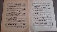Lindo Contratiempo De Acte-Gavotte Piano A. Bazille Partitura Heugel París Be 1