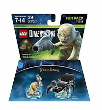 LEGO Dimensions LOTR GOLLUM Fun Pack 71218 NEW, Sealed (Ships for Free)