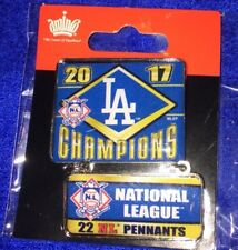 2017 Los Angeles Dodgers National League Champions Dangler Pin