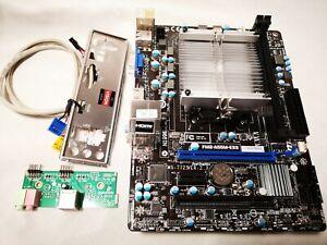 Mobo/CPU Bundle! AMD A8-5500 Radeon | MSI FM2-A55M-E33 | Backplate & Front Ports
