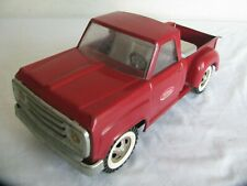 Vintage 1968-69 Tonka Toys Red Dodge Step-Side Pickup Truck w/ Tool Box #2302 VG