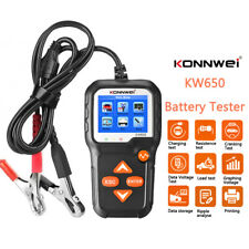 6-16V Car Boat Truck Battery Tester 100-2000CCA Charging Cranking Load Test Tool