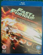 Fast & Furious - The Complete Collection (Blu Ray, 5-Disc Set)!