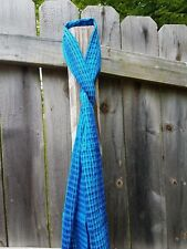 Fair Trade Handwoven Teal Women's Scarf (accessories)