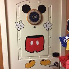 Disney Cruise Line Mickey Mouse Stateroom Door Porthole Magnet Set