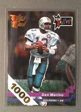1992 DAN MARINO WILD CARD STAT SMASHERS 1000 STRIPE!!