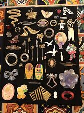 Lot Estate Finds Nice All Wearable Brooch/Pin