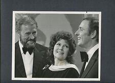 RITA HAYWORTH WITH ROWAN + MARTIN ON LAUGH-IN - POPULAR 1960S  TV COMEDY SHOW