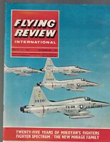 Flying Review International Magazine November 1965 Mikoyan's Fighter