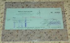 Telly Savalas Kojak - Signed Bank Check Authentic Autograph PSA/DNA #Y74215