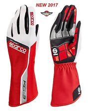 Guanti Kart SPARCO Track Kg-3 Tg 5 Rosso Karting Gloves Red Size 5 Handschue
