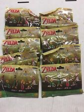 The Legend Of Zelda Figure Collection, LOT Of 10 Packs To Trade And Collect!
