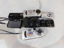 Lot of 7 Sony Digital Cameras (C301)