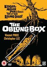 The Oblong Box 1969 DVD Vincent Price, Christopher Lee, dir. Gordon Hessler