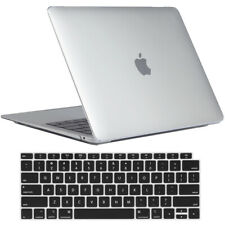 """Crystal Clear Glossy See Through Case Cover For Apple MacBook Air 13"""" (A2179)"""