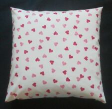 "Sanderson Emma Bridgewater Cushion Cover - HEARTS - Red/Pink - 18"" x 18"""