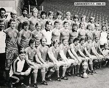 ABERDEEN FOOTBALL TEAM PHOTO>1980-81 SEASON