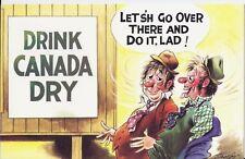 Vintage 1970's Bamforth COMIC Postcard (new old stock) Drink Canada Dry #311