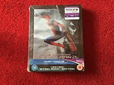 The Amazing Spider-Man 2 - Lenticular 4K Steelbook Brand New And Sealed