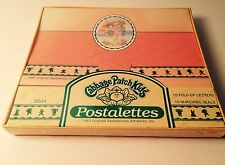 CABBAGE PATCH KIDS POSTALETTES 10 FOLD UP LETTERS 10 MATCHING SEALS NEW! CPK '85