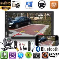 "Toccare Bluetooth Autoradio 7"" 2DIN Car Stereo MP5 Player USB FM AUX+Telecomando"