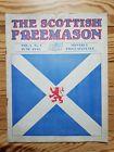 Scottish Freemason, 1935 Vol.1 No.1, Scotland Masonic Lodge magazine Freemasonry