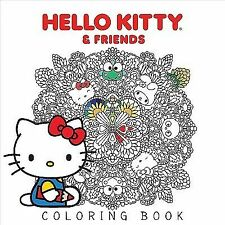 Hello Kitty & Friends Coloring Book, Various, Acceptable Book