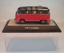 Maisto ® MODELLO DI AUTO ROSSO//BIANCO VW volkswagen t1 bulli samba bus circa 1:40 NUOVO