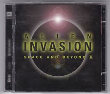 ALIEN INVASION-SPACE AND BEYOND II/DOUBLE CD bande originale Score Comme neuf -!