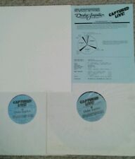 DUKE JUPITER vinyl album LP  CAPTURED LIVE RKO RADIO NETWORKS 1984 + CD