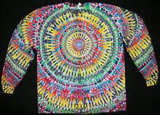 Tie dye dyed t-shirt hippie hippy grateful dead X-Large long sleeve #99
