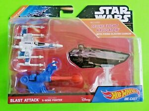 Hot Wheels Star Wars Blast Attack Resistance X-Wing Fighter Starship - NEW