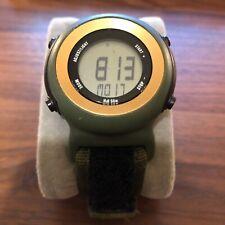 Nike Polyurethane Timber Watch Digital Chronograph Sport Watch WK0013-418 Green