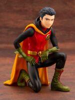 Kotobukiya DC Comics Damian Robin Ikemen With Bonus Head Part Statue Figure NEW