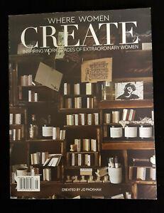 Where Women Create Magazine August, September 2018. Pristine Condition