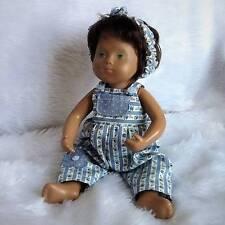 Dungarees et bandeau pour bébé Sasha doll