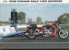 2006 HARLEY-DAVIDSON CVO VRXSE V-ROD DESTROYER BROCHURE -SCREAMIN EAGLE