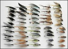 Wet Trout Fishing Flies, 50 Pack, All Named Varieties, fly fishing SF3A