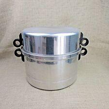 New listing Vtg Regal Ware Supreme 6 Qt Aluminum Stockpot Steamer Dutch Oven/Domed Lid